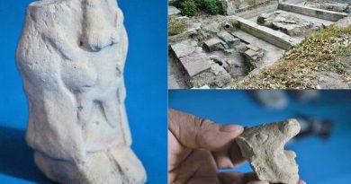 Hallan en La Merced de CdMex vestigios del barrio prehispánico de Temazcaltitlan