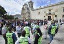 Cumple simulacro de sismo metas de prevención en CdOax: Ayuntamiento