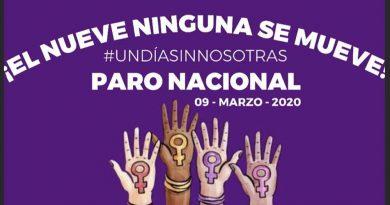 Convocan a mujeres a marcha y paro nacional para el 8 y 9 de marzo