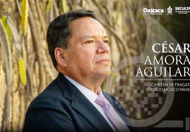 César Amora Aguilar es el nuevo director de la Banda de Música de Oaxaca
