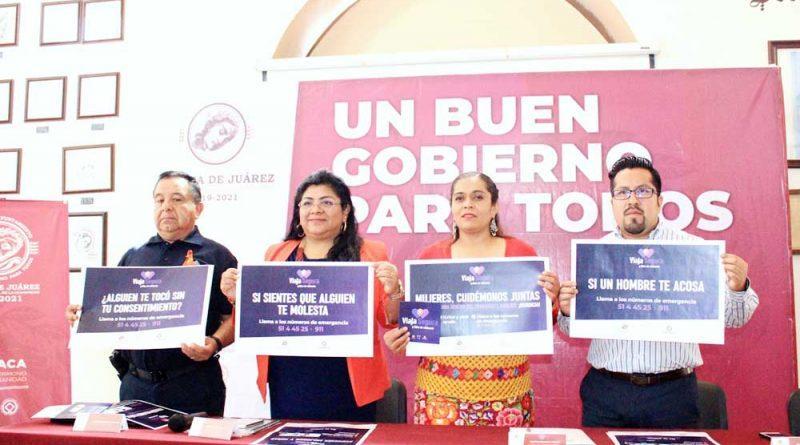 Implementa Ayto protocolo para dar seguridad a mujeres en el transporte público