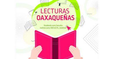 Invita Karla Villacaña a disfrutar 'Lecturas oaxaqueñas' vía Facebook
