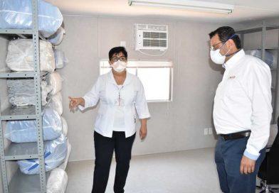Invirtió gobierno estatal 18 mdp en hospital móvil con 60 camas