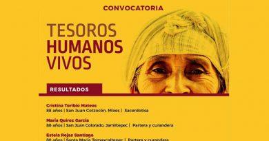 Estas son las mujeres ganadoras de la convocatoria 'Tesoros humanos vivos'