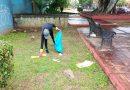 Sanciona Ayto citadino a ciudadana que tiró basura en vía pública