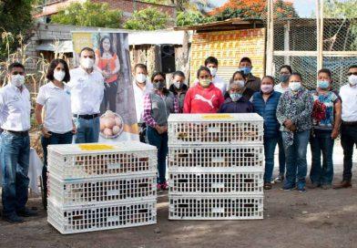 Entregan ONG´s Heifer Internacional y Cargill US créditos de 'Incubando esperanzas'