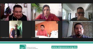 Realizaron IAIPO y APO curso sobre datos en posesión de partidos y elecciones 2021