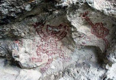 Lamentan Seculta e INAH daño a pinturas rupestres en Mitla, Oaxaca