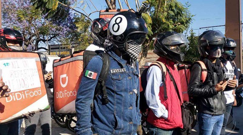 """""""Justicia"""", exigen repartidores para compañeros atropellados"""