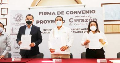 La UABJO y el Ayuntamiento capitalino, estrecharon alianzas de colaboración