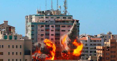 Derriba Israel edificio de oficinas de medios internacionales en Gaza; AP y AlJazeera entre ellos