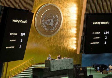 ONU pone fin al bloqueo impuesto por EUA a Cuba desde hace casi 60 años