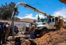 Reparan asentamiento ubicado cerca del Parque del Amor tras colapso de tubería