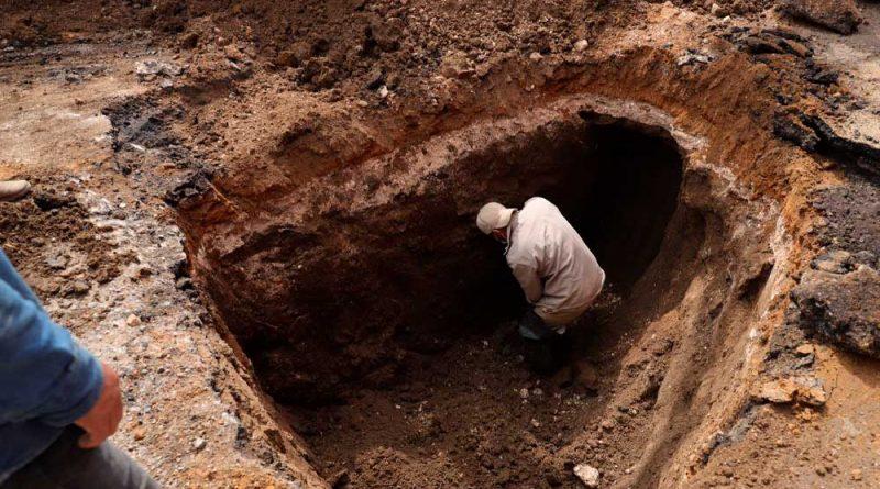 Atiende SAPAO asentamiento/socavón registrado en la Central de Abasto