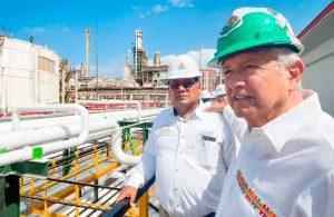 Afirma AMLO que en junio del 2022 se inaugurará la refinería de Dos Bocas