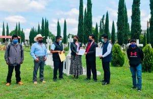 Suscriben convenio en Coixtlahuaca para restauración del anfiteatro y creación de panteón forense