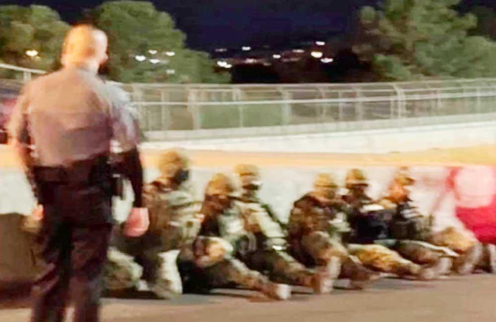 Detuvieron en EU a 7 soldados mexicanos que cruzaron la frontera; ya fueron liberados