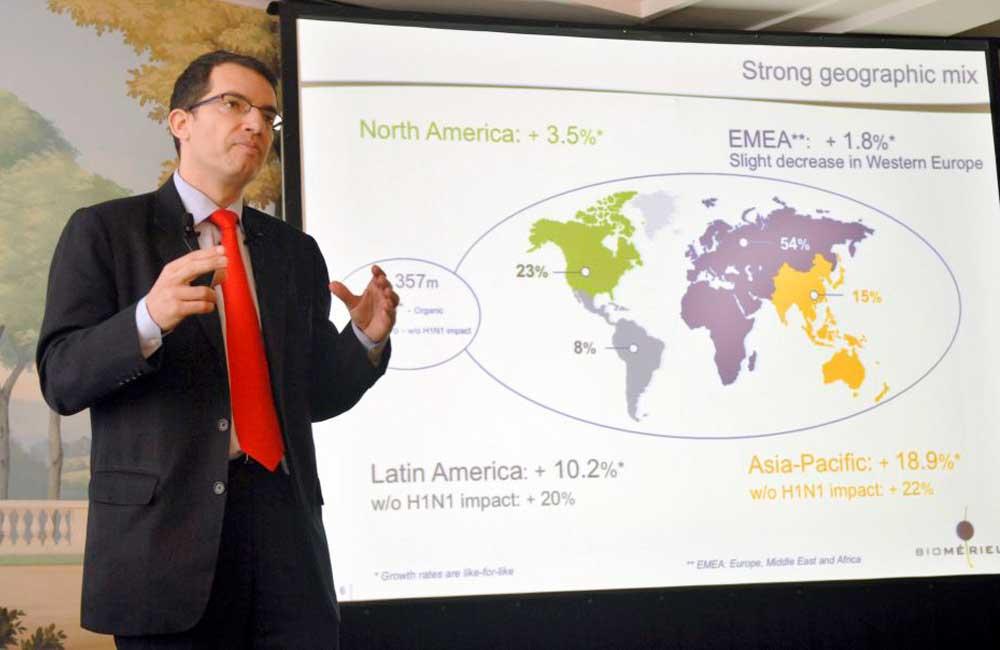 Pandemia mundial por Covid-19 terminará en un año, predice Stéphane Bancel, CEO de Moderna