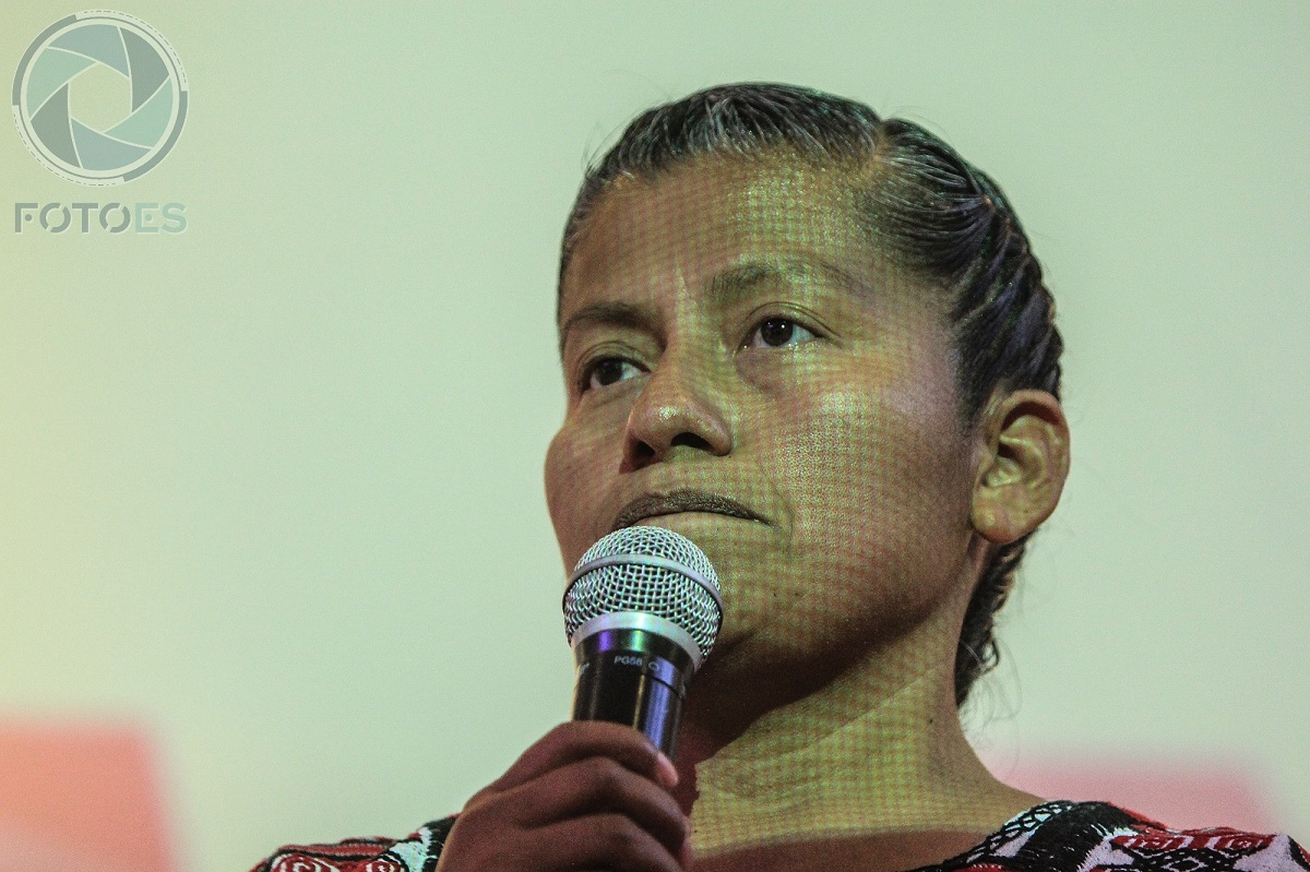 Irma Juan Carlos, la mujer indígena que levanta la mano para ser gobernadora de Oaxaca