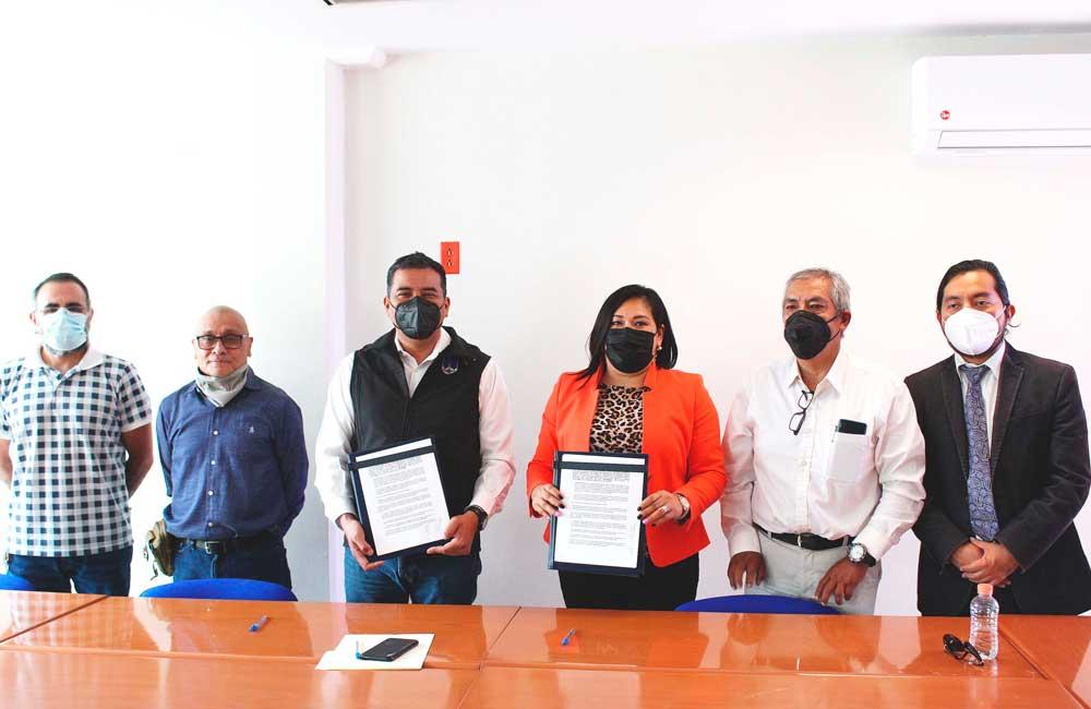 La UABJO, contribuirá al desarrollo económico-social de San Jacinto Amilpas