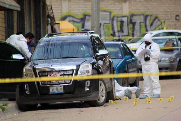 Asesinan a un joven en la colonia del Maestro de Santa Rosa Panzacola