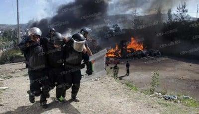 Más bajas entre los uniformados. Fotoes.mx
